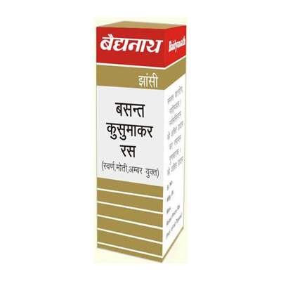 Buy Baidyanath Basantkusumakar Ras Tablets online United States of America [ USA ]