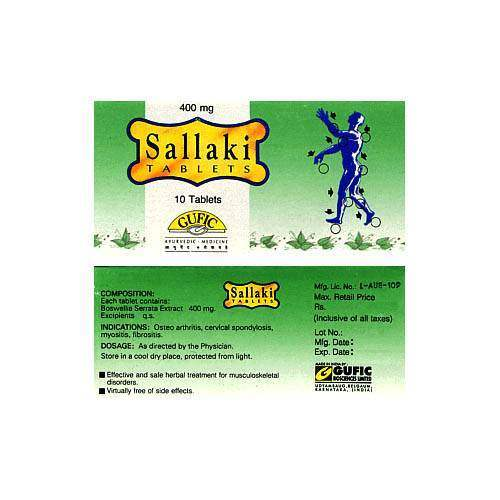 Buy Gufic Biosciences Sallaki 400mg online United States of America [ USA ]