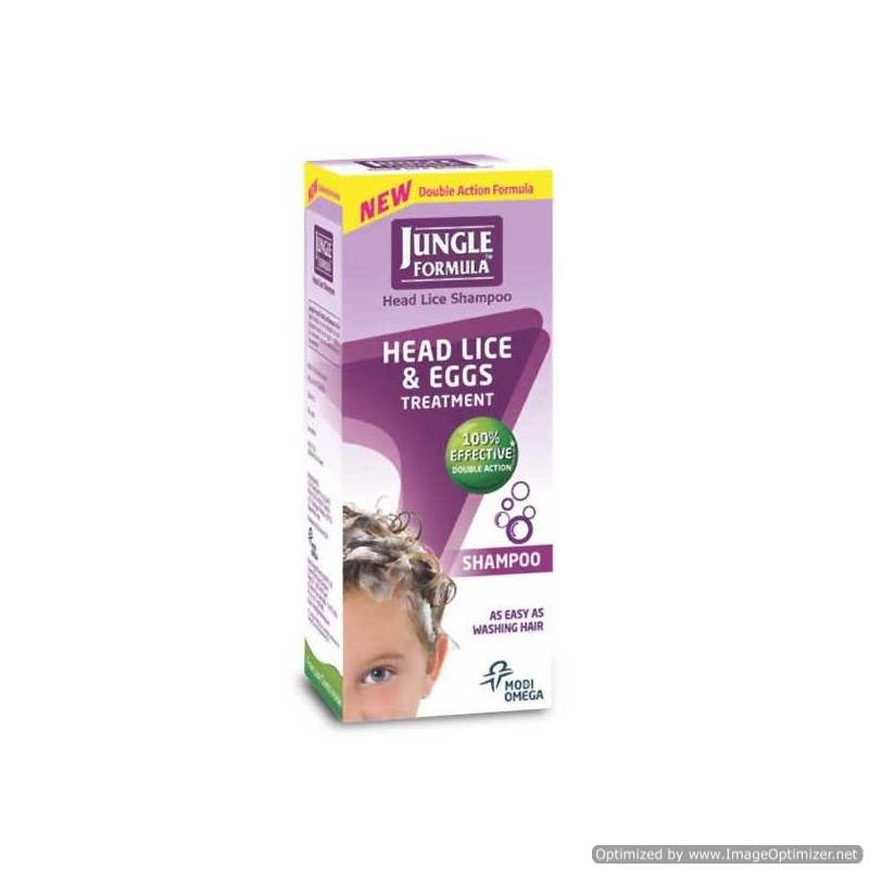 Buy Jungle Formula Shampoo - Head Lice & Eggs Treatment online New Zealand [ NZ ]