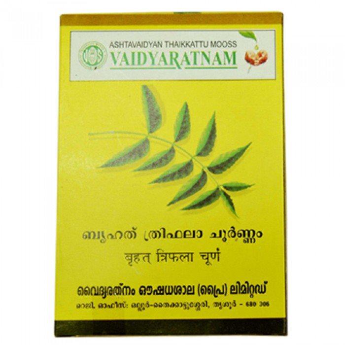 Buy Vaidyaratnam Oushadhasala Bruhath Triphala Choornam online Australia [ AU ]