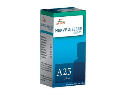 Buy Allen A25 Nerve and Sleep online Belgium [ BE ]
