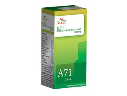 Buy Allen A71 Urinary Tract Infections (U.T.I.) online United States of America [ USA ]