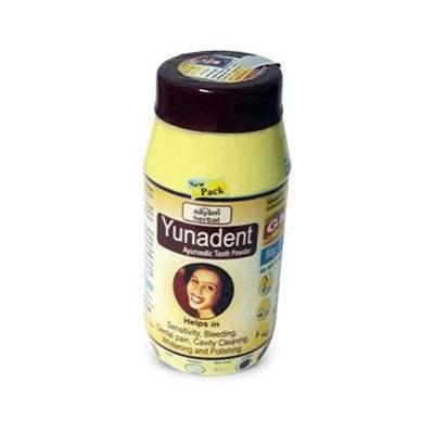 Buy Aayam Herbal Yunadent Ayurvedic Tooth Powder online Italy [ IT ]
