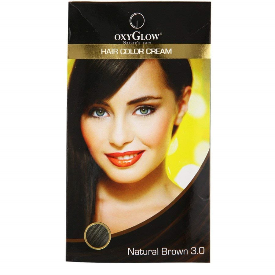 Buy Oxyglow Brown Hair Color Cream online Singapore [ SG ]