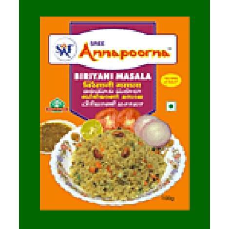 Buy Annapoorna Foods Biriyani Masala online Belgium [ BE ]