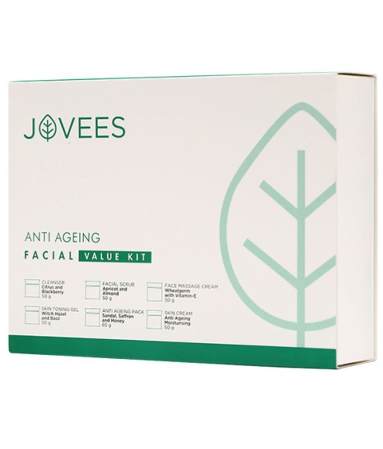 Buy Jovees Anti Ageing Skin Care Facial Kit Large online New Zealand [ NZ ]