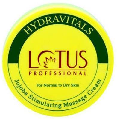 Buy Lotus Professional Hydravitals Jojoba Stimulating Massage Cream online Singapore [ SG ]