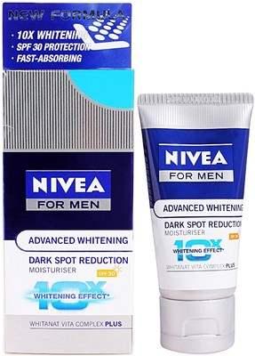 Buy Nivea Advanced Whitening Dark Spot Reduction Moisturiser Spf 30 online Singapore [ SG ]