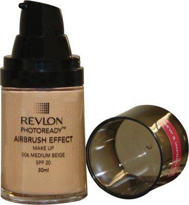 Buy Revlon Photo Ready Air Brush Effect Make Up Spf 20 - Medium Beige Foundation online United States of America [ USA ]