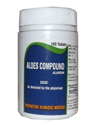 Buy Alarsin Aloes Compound Tablets online United States of America [ USA ]