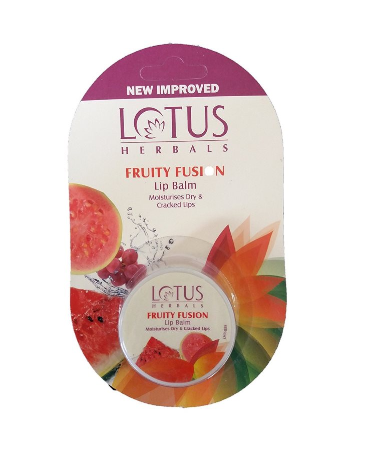 Buy Lotus Lip Balm Rehydrates Dry and Cracked Lips Fruity Fusion online Nederland [ NL ]