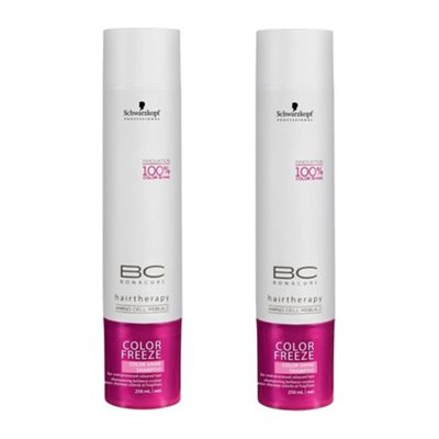 Buy Schwarzkopf Bc Color Freeze Color Shine Shampoo (Pack Of 2) online Malasiya [ MY ]