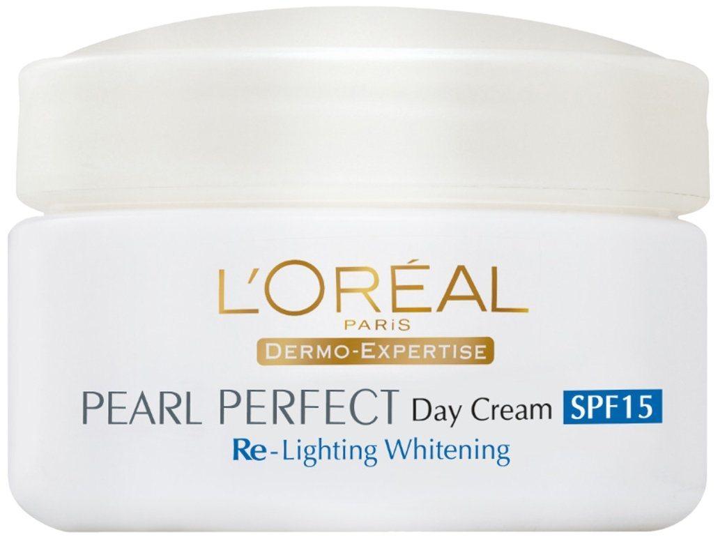 Buy Loreal Professional Paris Pearl Perfect Re-Lighting Whitening Day Cream Spf 15 online Australia [ AU ]
