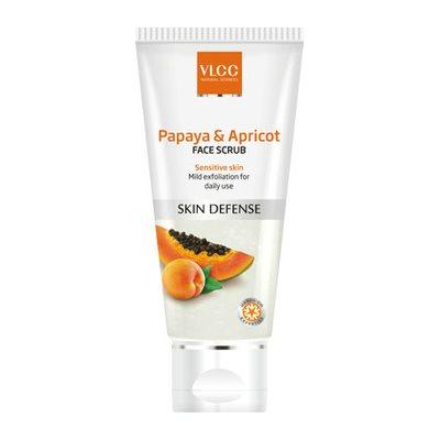 Buy VLCC Papaya and Apricot Face Scrub online New Zealand [ NZ ]