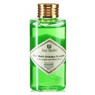 Buy Just Herbs Lush Methi Shikakai Shampoo online Singapore [ SG ]