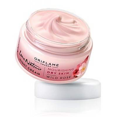 Buy Oriflame Love Nature Night Cream Wild Rose online New Zealand [ NZ ]