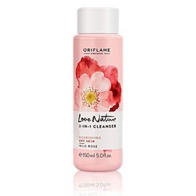 Buy Oriflame Love Nature 2 In 1 Cleanser Wild Rose online Singapore [ SG ]