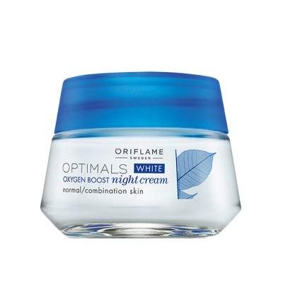Buy Oriflame Optimals White Oxygen Boost Night Cream online United States of America [ USA ]