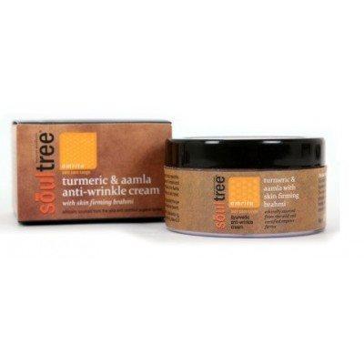 Buy SoulTree Turmeric & Aamla Anti Wrinkle Cream with Skin Firming Brahmi online Nederland [ NL ]