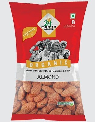 Buy 24 Mantra Organic Almonds online United States of America [ USA ]