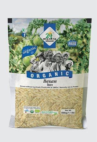 Buy 24 Mantra Organic Besan (Gram) Flour online United States of America [ USA ]