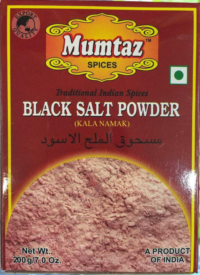 Buy Black Salt Powder / Kala Namak / Rock Salt   Best Quality from India! online United States of America [ USA ]
