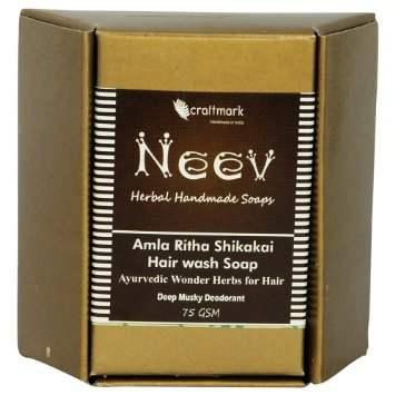 Buy Neev Amla Ritha Shikakai Hair wash Soap online Nederland [ NL ]