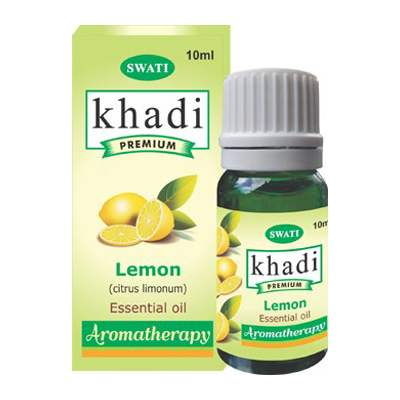 Buy Khadi Premium Essential Oil Lemon (Citrus Limonum) online Malasiya [ MY ]