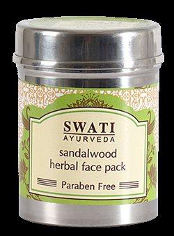 Buy Swati Ayurveda Sandalwood Herbal Face Pack ( paraben Free ) online Italy [ IT ]