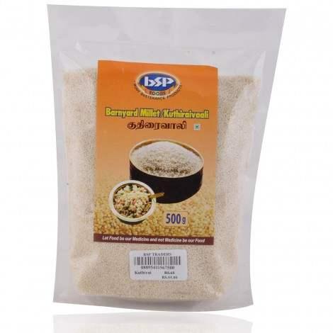 Buy BSP Traders Kuthiraivaali (Barnyard Millet) online United States of America [ USA ]