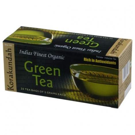 Buy Korakundah Organic Green Tea Dip Bags online New Zealand [ NZ ]