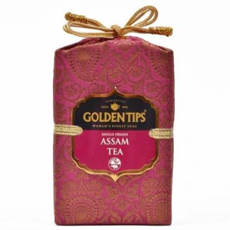 Buy Golden Tips Pure Assam Black Tea Brocade Bag online Singapore [ SG ]