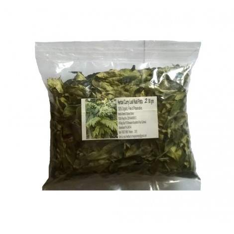 Buy Herbal Organic Curry tree Leaves dried - Kadi Patta online United States of America [ USA ]