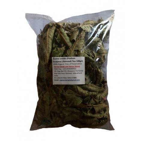 Buy Herbal Organic Guava leaves (Psidium guajava) (Amrood) tea online Australia [ AU ]