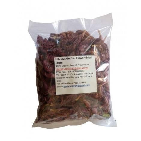 Buy Herbal Organic Hibiscus Gudhal Flower dried online Singapore [ SG ]