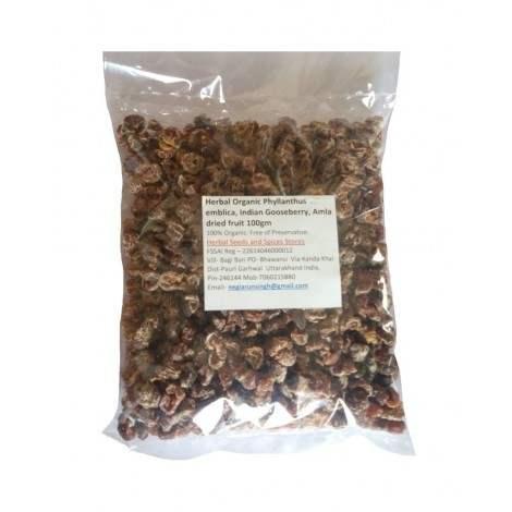 Buy Herbal Organic Indian Gooseberry Amla Phyllanthus Emblica Dried Fruit online New Zealand [ NZ ]