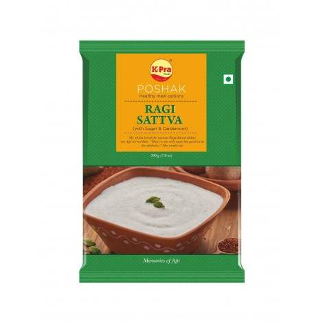 Buy K-Pra Ragi/ Nachni Satva with Sugar online Singapore [ SG ]