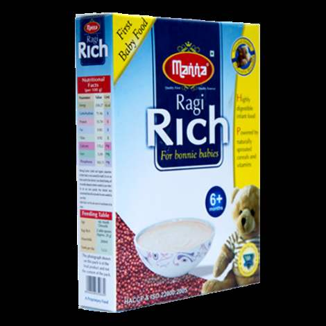 Buy Manna Ragi Rich For Bonnie Babies online New Zealand [ NZ ]