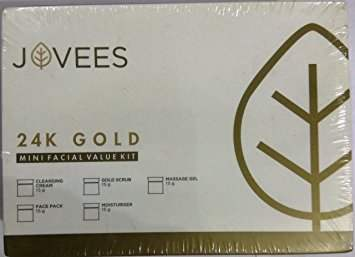 Buy Jovees 24 Carat Gold Facial Kit online New Zealand [ NZ ]