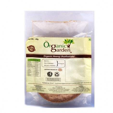Buy Organic Garden Asafetida (Hing) online New Zealand [ NZ ]