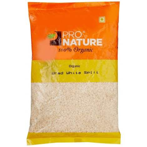 Buy Pro Nature Organic Urad White Split online United States of America [ USA ]