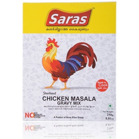 Buy Saras Chicken Masala Gravy Mix online United States of America [ USA ]
