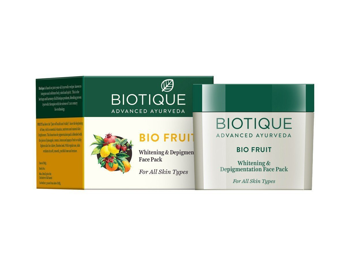 Buy Biotique Bio Fruit Whitening And Depigmentation Face Pack online Malasiya [ MY ]