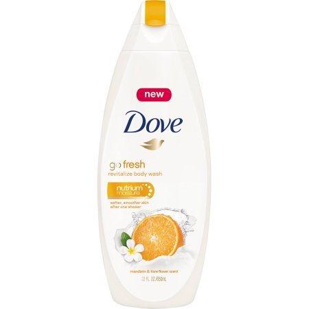 Buy Dove Go Fresh Revitalize With Mandarin & Tiare Scent Body Wash online United States of America [ USA ]