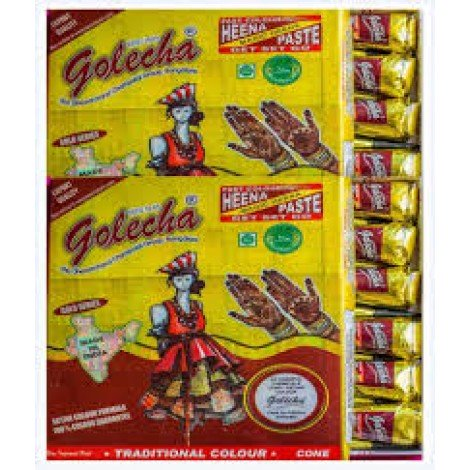 Buy Golecha Fast Henna Cones - Maroon online Singapore [ SG ]