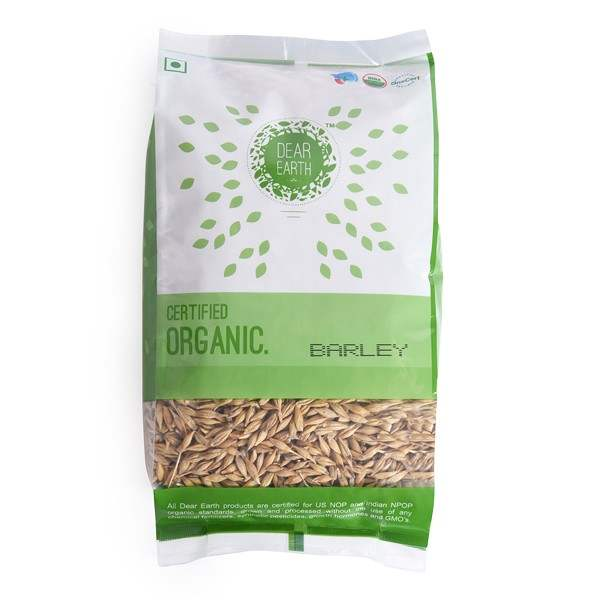 Buy Dear Earth Barley [Jau] Whole 500 GMS online United States of America [ USA ]