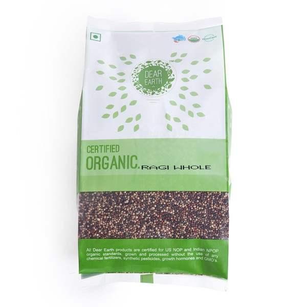 Buy Arya Farm Organic Finger Millet [Ragi] Whole online Italy [ IT ]