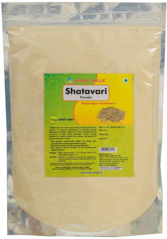 Buy Herbal Hills Shatavari Powder online Malasiya [ MY ]