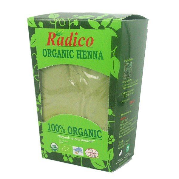 Buy Radico Organic Henna Powder - 100 gm online Switzerland [ CH ]