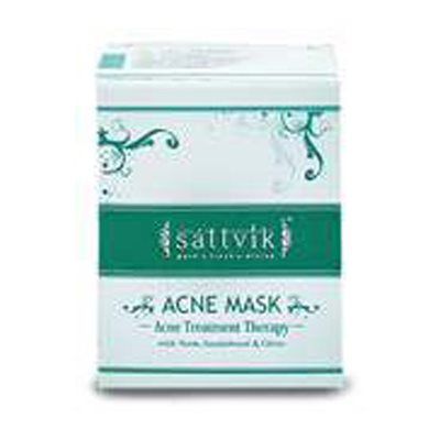 Buy Sattvik Acne Mask - Acne Treatment Therapy online Malasiya [ MY ]